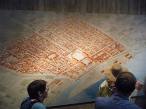 ローマ時代のケルンの地図