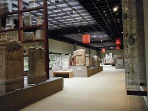 博物館内部